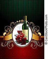 wine and grapevine