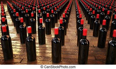 Wine animation - 3D Motion design