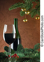 Wine at christmas