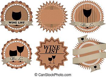 wine badge