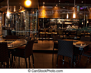wine bar and resturant before opening