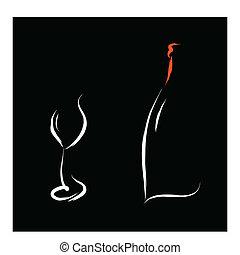 wine bar logo