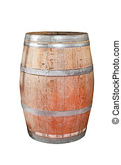 Wine barrel - Traditional wine barrel made of oak wood