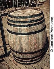 Wine barrel - Vintage wine barrel