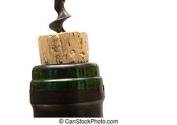Wine Bottle Closeup