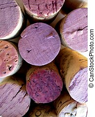 wine bottle corks - stack of wine bottle corks/wine cork...