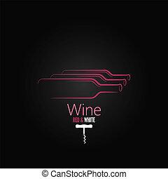 wine bottle corkscrew design