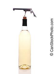 Wine Bottle with Opener