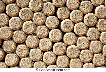 Wine bottles corks