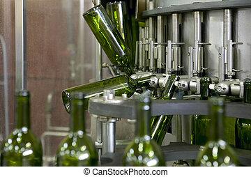 Wine bottling plant