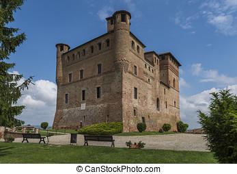 Wine Castle Grinzane Cavour Piedmont