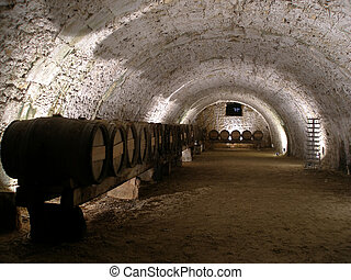 Wine cellar - An old cellar of a traditional wine producer...