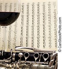 Wine & Clarinet