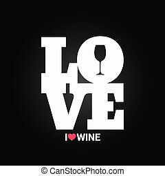 wine concept label background