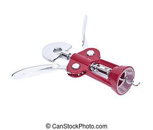 Wine cork opener