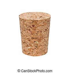 wine corks isolated on white