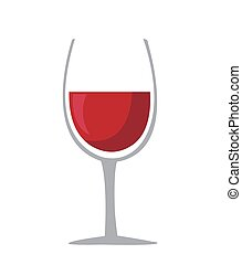 Wine glass icon - Vector