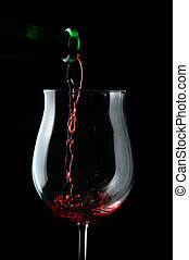 wine glass alcohol