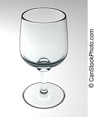 Wine glass - Wirtual vine glass