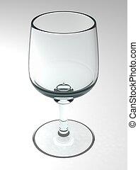Wirtual vine glass