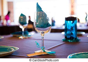 Wine Glasses At Wedding
