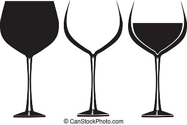 wine glasses clipart and stock illustrations 52 194 wine glasses rh canstockphoto com wine glass clipart png wine glass clipart free