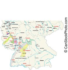 wine-growing areas in germany