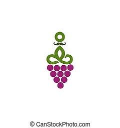 WINE GURU logo for your company or brand