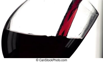 Wine in Super Slow Motion