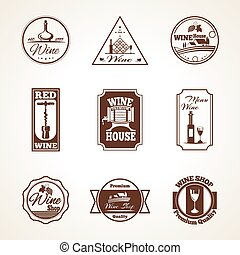 Wine Label Set