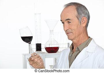 Wine laboratory