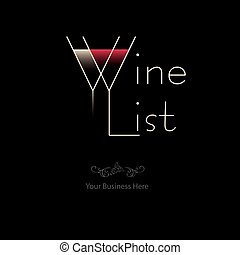 Wine list - Your business here