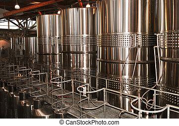 Wine making equipment - Wine making vats and equipment in ...