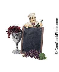 Wine Menu Marquee