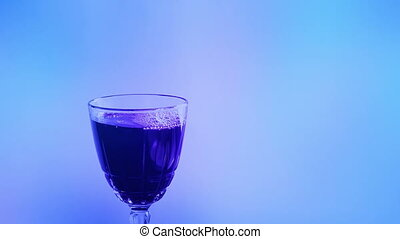 Wine Poured Into Glass At Party Event