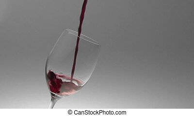 wine pouring composition