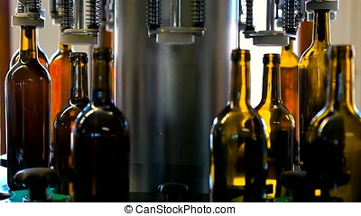Wine production line factory