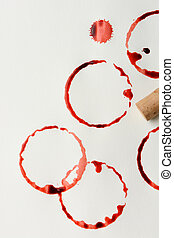 Wine Stains and Cork