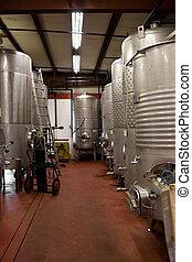 Wine Storage Tanks