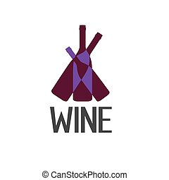 wine vector design template