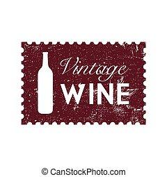 Wine Vintage Stamp