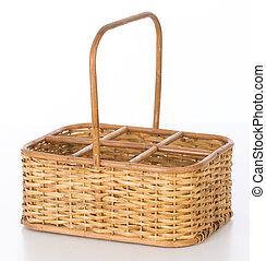 wine wicker basket - wicker baset for holding bottles of...