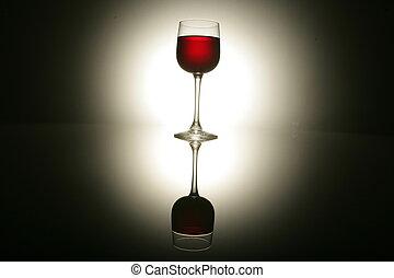 wine arrangment