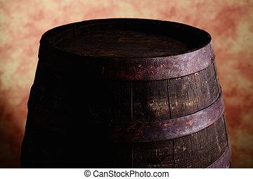 wine wood barrel
