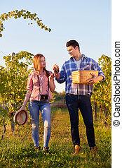 winegrowers, 偶力が歩く, throu