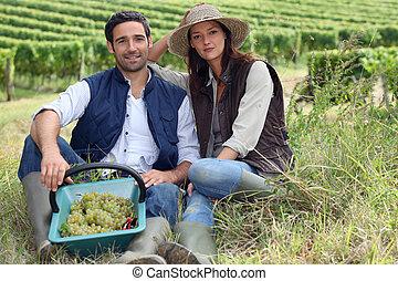 winegrowers, 恋人