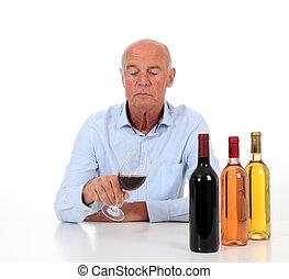 winemaker, portrait, dégustation de vins