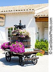 winepress, Bandol, Provence, France