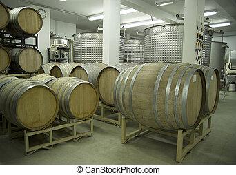 Winery-Barrels and Vats-D2x-44366