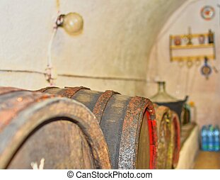 Wines fermented in classic wooden barrels. Typical Moravian...